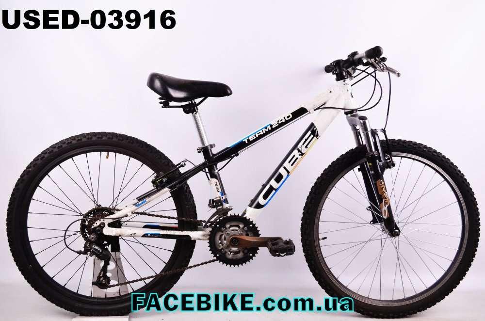БУ Подростковый велосипед Cube-Гарантия,Документы-у нас Большой выбор!