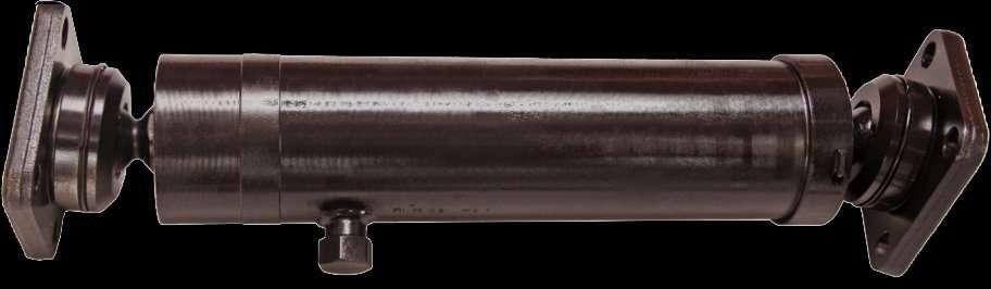 Гидроцилиндр КамАЗ-8560, НЕФАЗ подъема прицепа