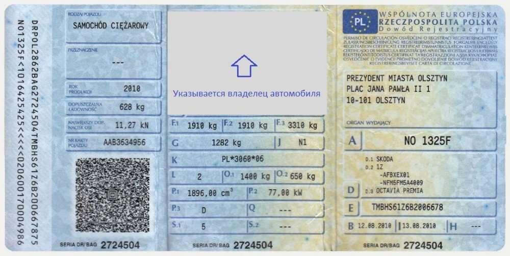 Польский техосмотр в Украине