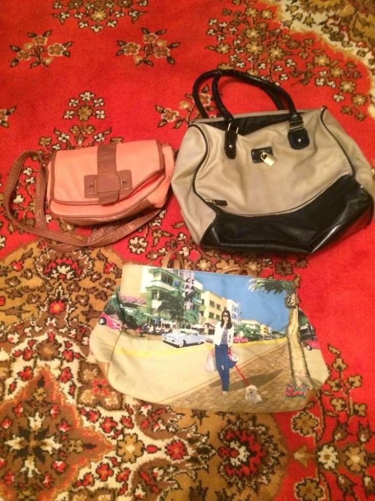 Продам женские сумки комплектом 3 шт.