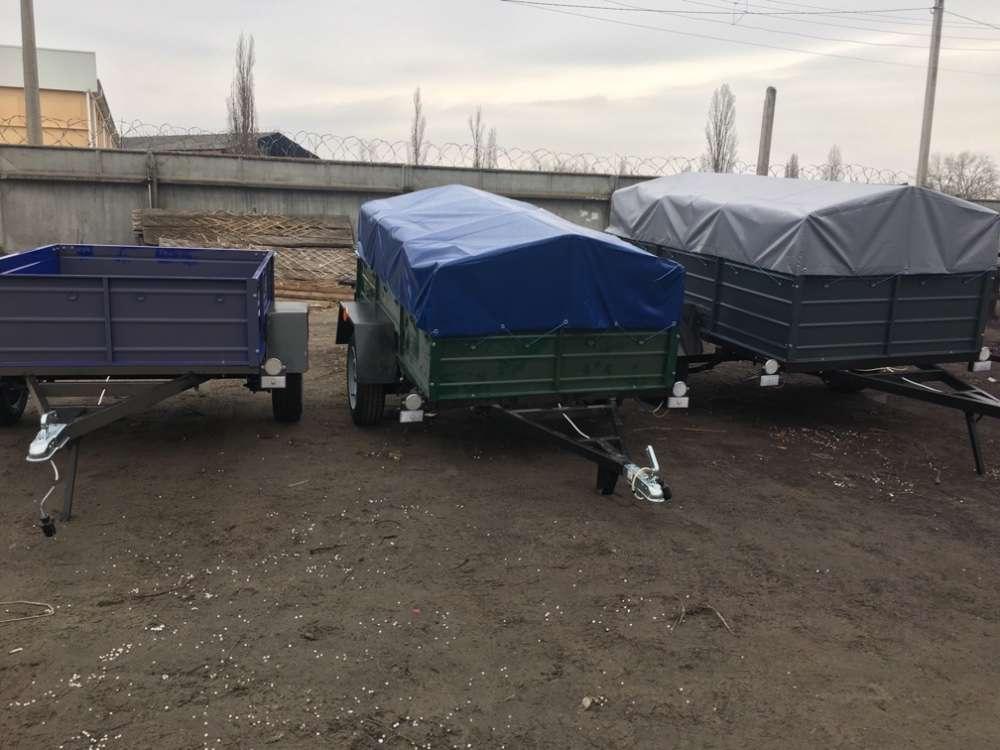Купить одноосный прицеп на рессорах Волга