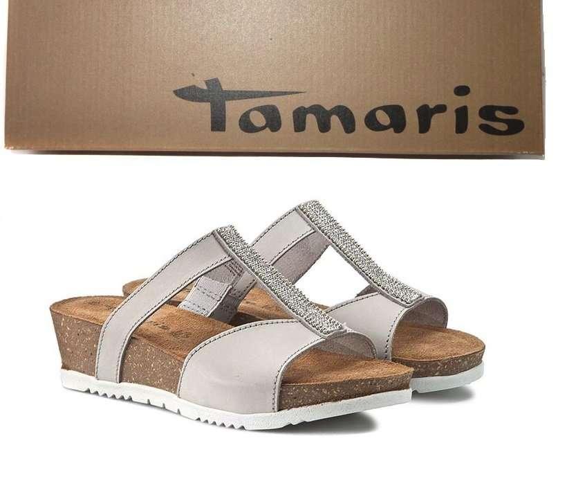 Tamaris- Германия, натуральные сабо, шлепки, возможна примерка
