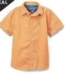 Рубашка U.S. Polo Assn., р. 14-16лет, новая!