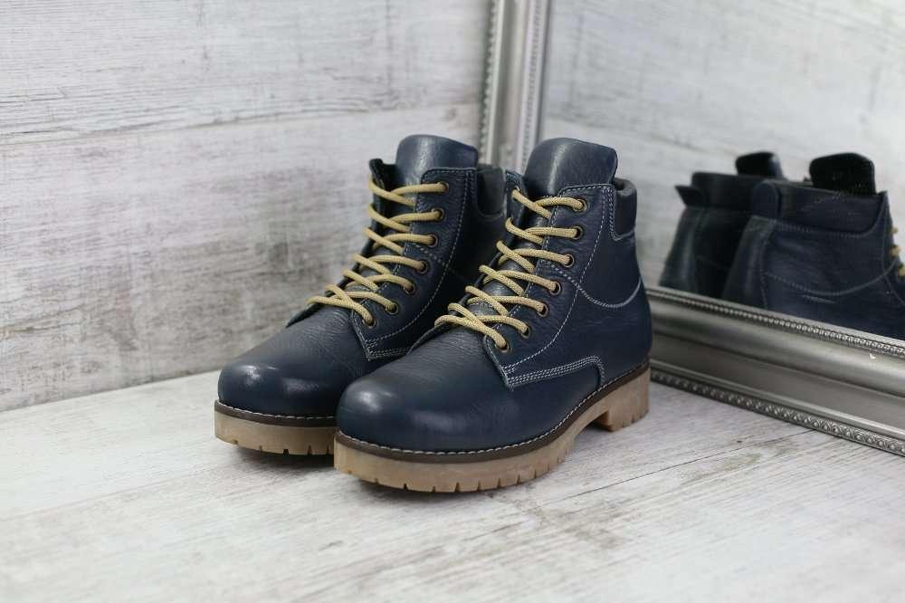 83dfa0eead99 Мужские зимние ботинки синего цвета Натуральная... - Мода и стиль ...