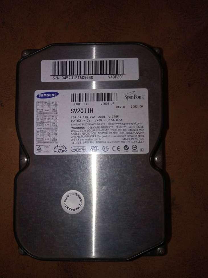 Жесткий диск винчестер 20Gb 3.5 IDE