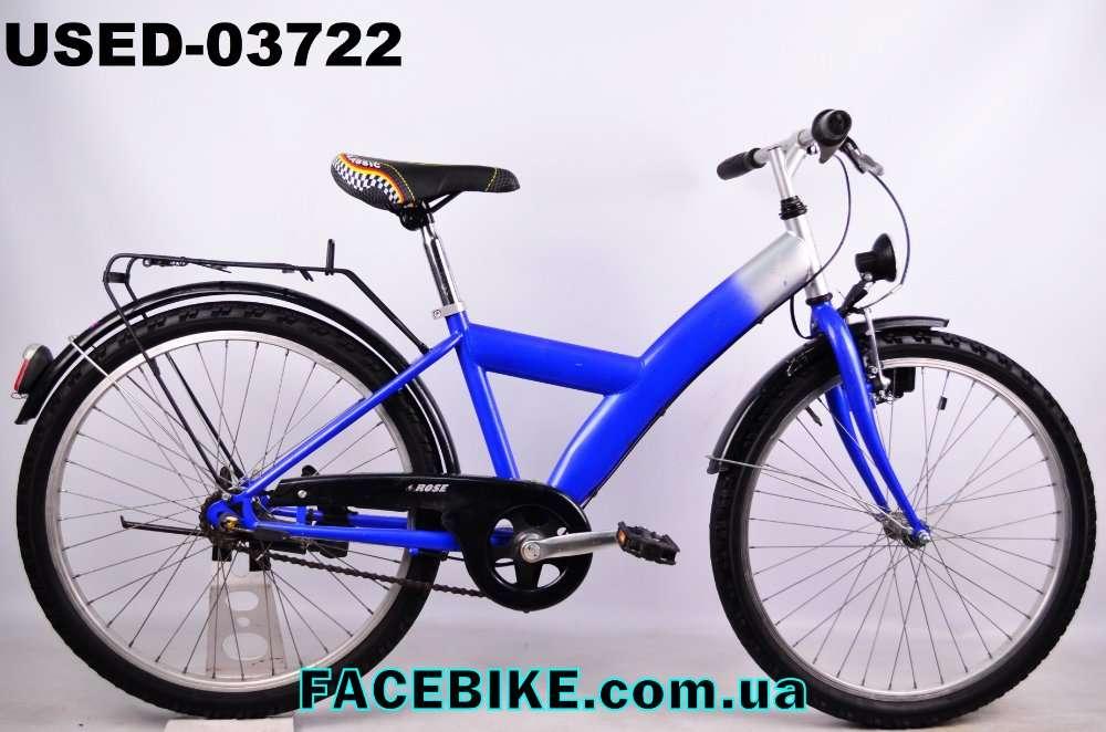 БУ Подростковый велосипед Rose-Гарантия,Документы-у нас Большой выбор!