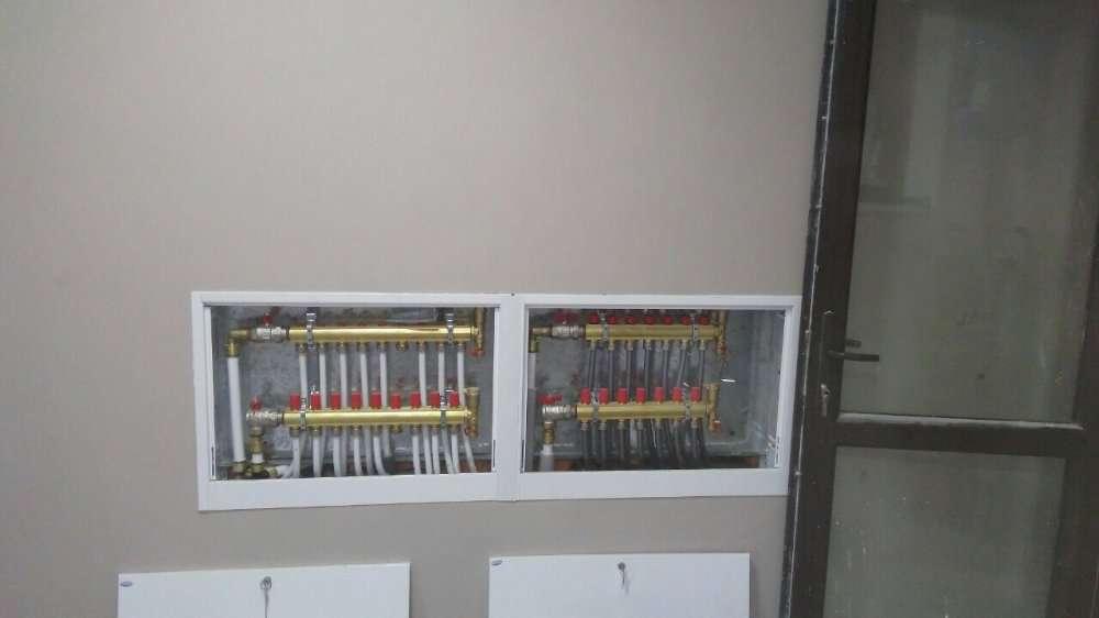 Монтаж систем отопления, водоснабжения, водоотведения.