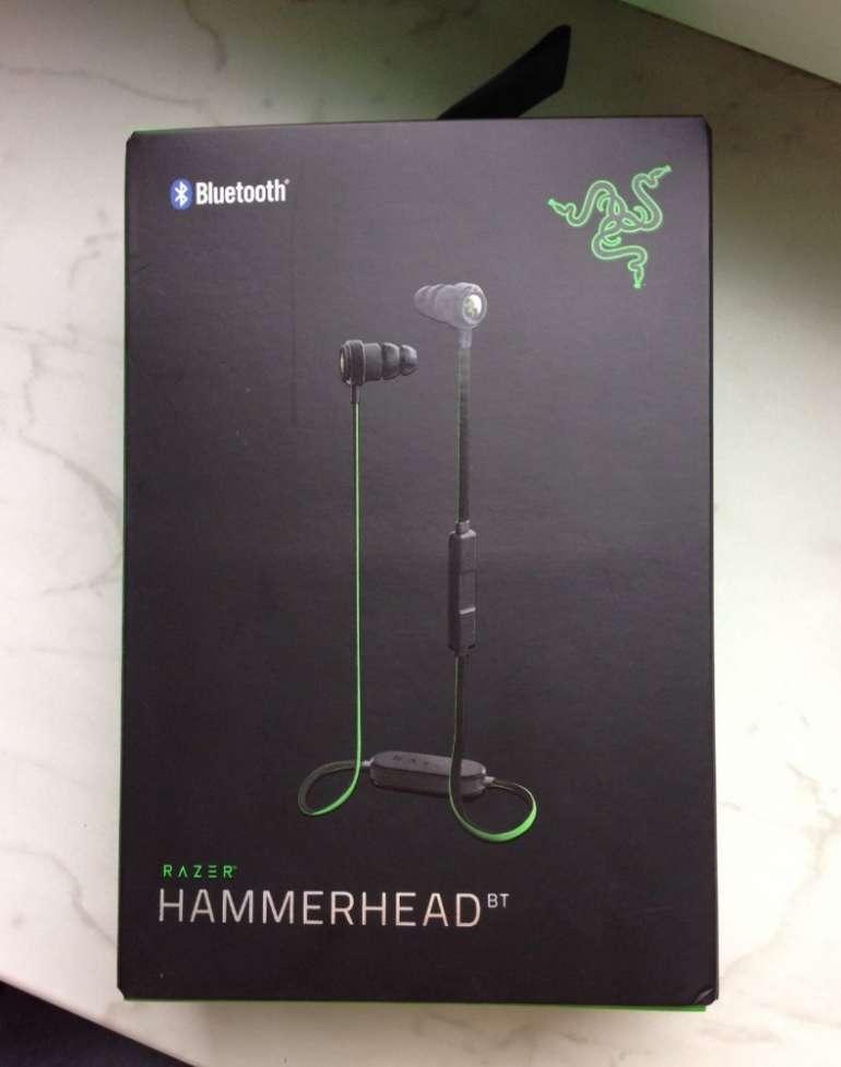 Razer Hammerhead In Ear Bluetooth Black - блютус гарнитура