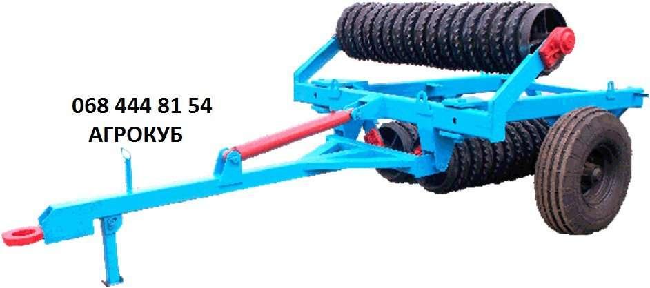 Каток зубчато-кольчатий гидрофицированный КЗК-6П-02