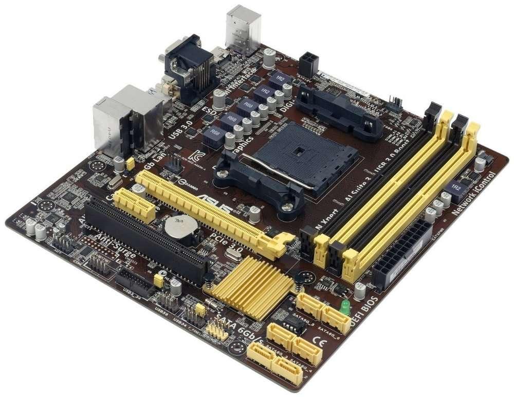 Материнская плата ASUS A88XM-A DDR3 FM2+ DDR3 Б/У от KIEV-IT