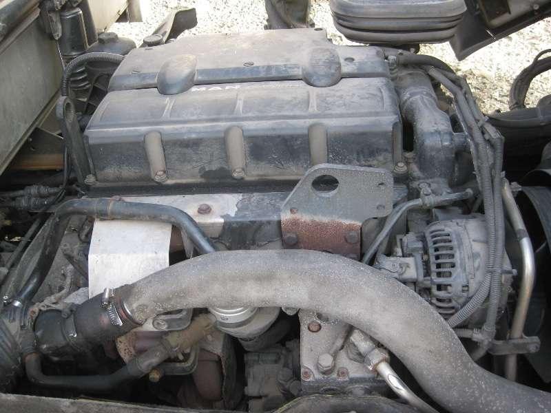 Двигатель MAN TGL 7.150 D0834 LFL40/41/42 Euro 3 2006 год Пробег 43000