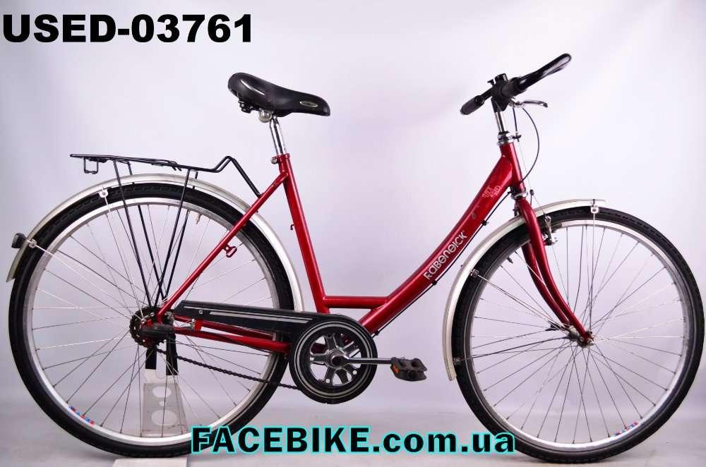 БУ Городской велосипед Rabeneick-Гарантия,Документы-у нас Большой выбо