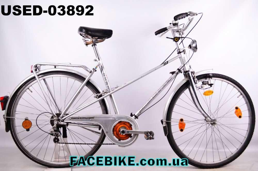 БУ Городской велосипед Kettler-Гарантия,Документы-у нас Большой выбор!