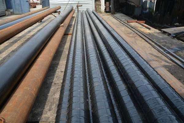 Труба 1020 мм УС изоляции (усиленная битумно-полимерная)