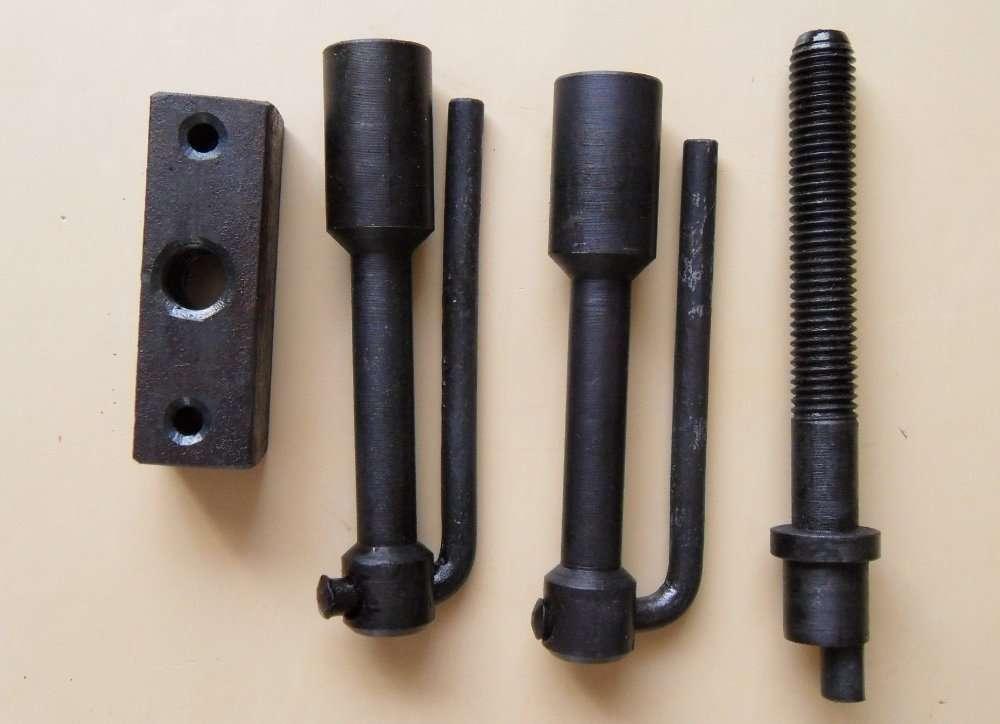 Ключ винтовой эксцентр.со слаживающ. ручками(замок, шпуга) для гаража