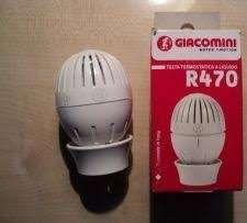 Головка термостатическая с жидкостным датчиком Giacomini R470