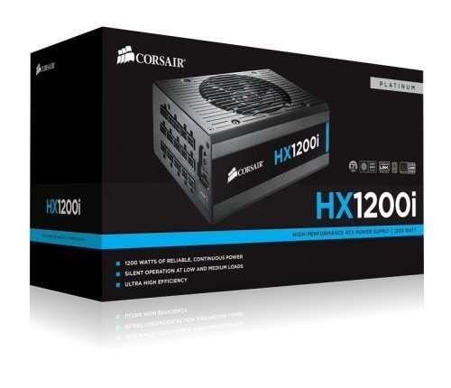 Блок питания Corsair Hx1200i сертификация 80 Plus Platinum
