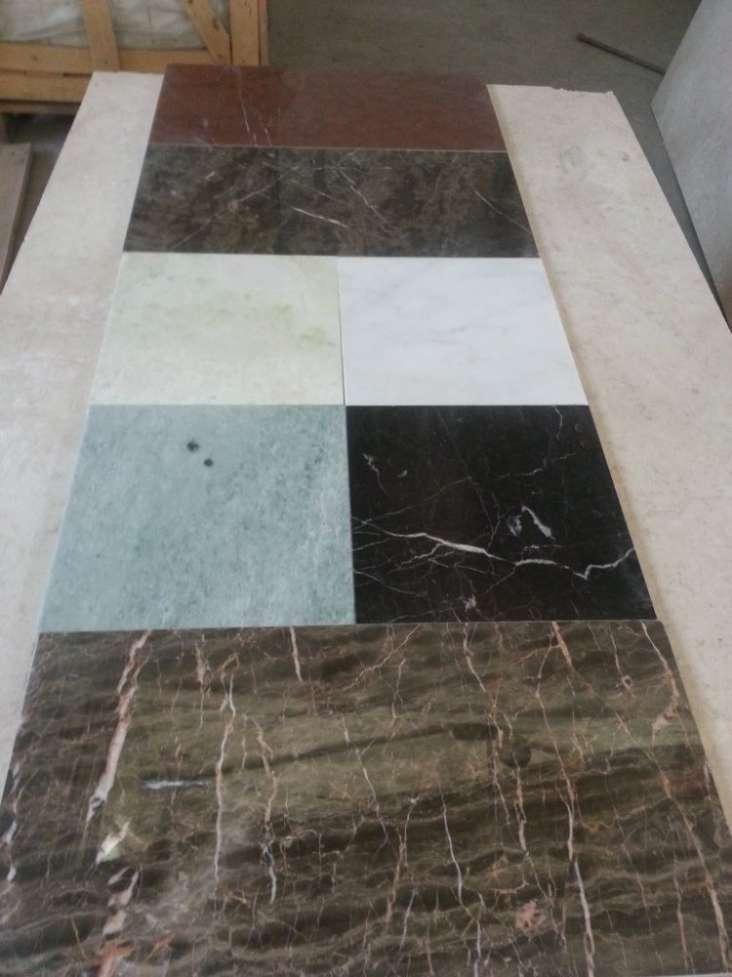 Плитка облицовочная из мрамора