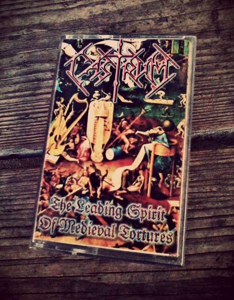 Студийная аудиокассета Castrum. (Death Metal)