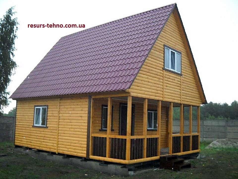 Дачные домики от 2600грн. за 1м/кв.
