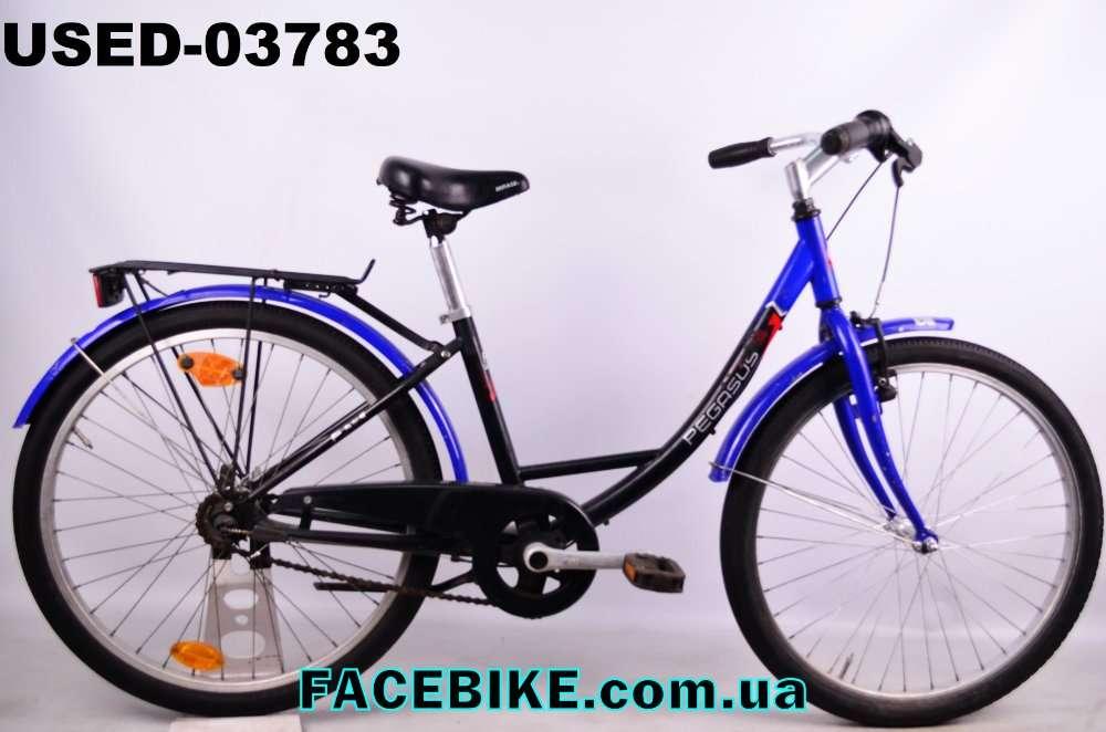 БУ Подростковый велосипед Pegasus-Гарантия,Документы-у нас Большой выб