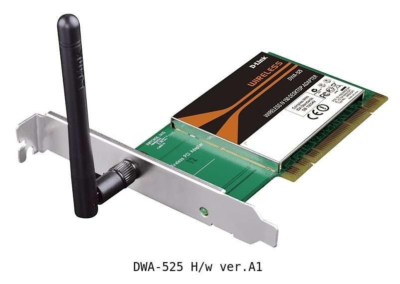 Адаптер Wi-Fi PCI D-link DWA-525