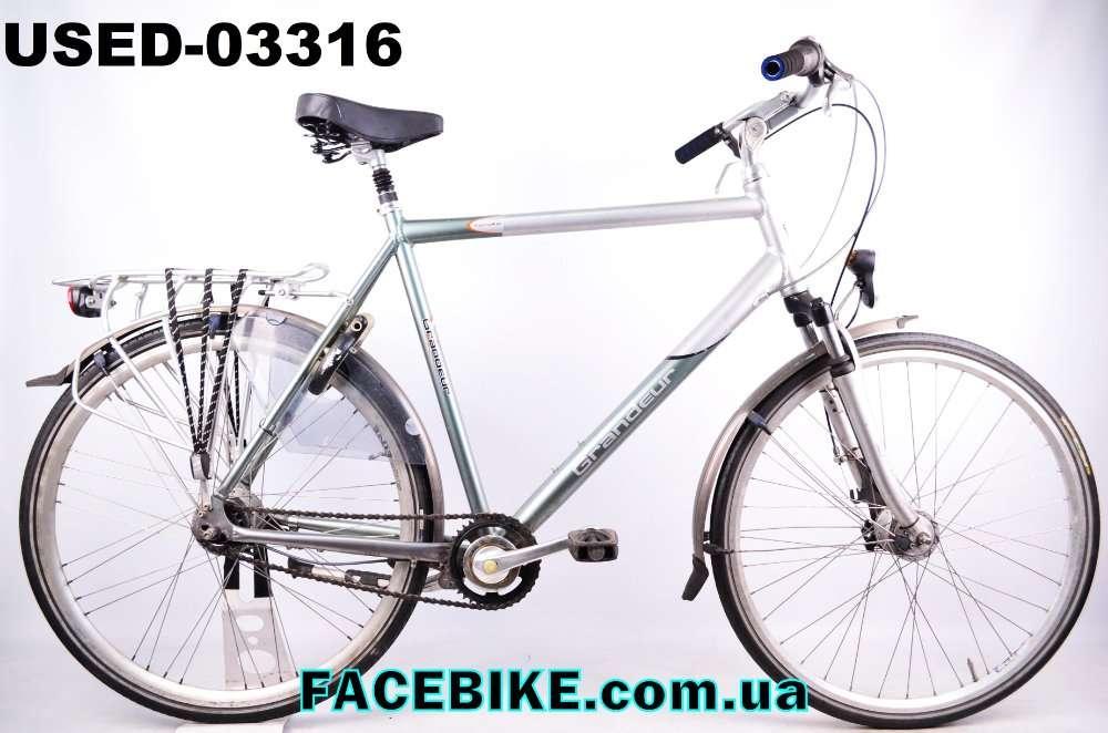 БУ Городской велосипед Grandeur-Гарантия,Документы-у нас Большой выбор