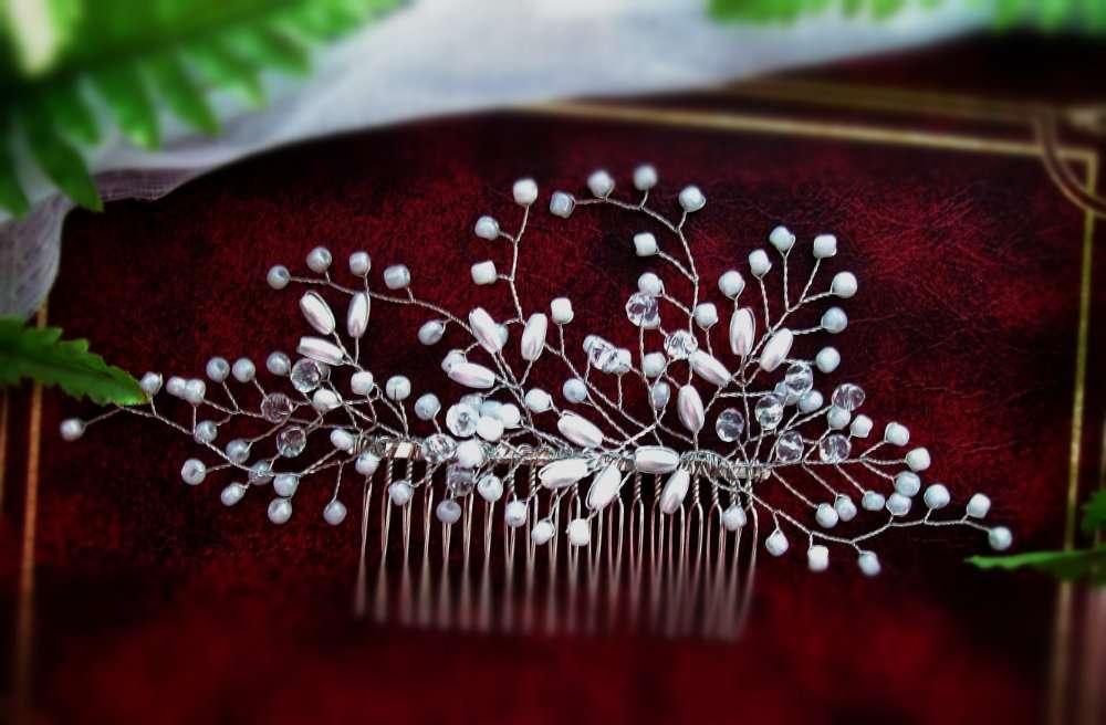 гребінь весільний для святкової зачіски  190 грн - Мода и стиль ... 7000ddc8acf59