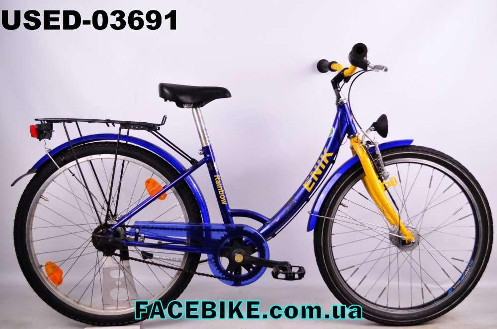 БУ Подростковый велосипед Enik-Гарантия,Документы-у нас Большой выбор!