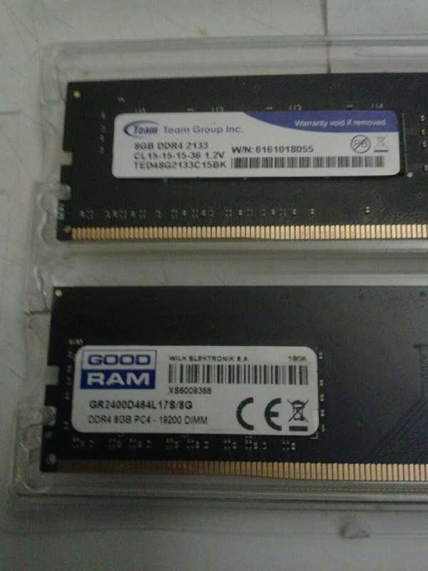 DDR4 16GB (2x8)
