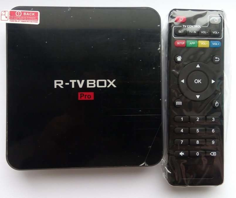 R-TV Box Pro (S912, 2/16 GB, bluetooth, Android 7, SPDIF, WiFi 5G)