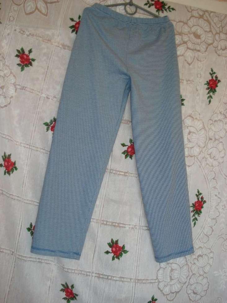 """Спальный костюм в сине-белую полоску,""""tu""""9-10 лет,134-140см.,100%котто"""