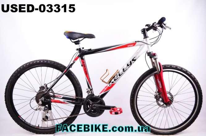 БУ Горный велосипед Kellys-Гарантия,Документы-у нас Большой выбор!