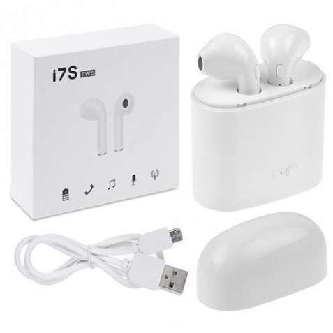РАСПРОДАЖА!!! Беспроводные Bluetooth наушники - i7s