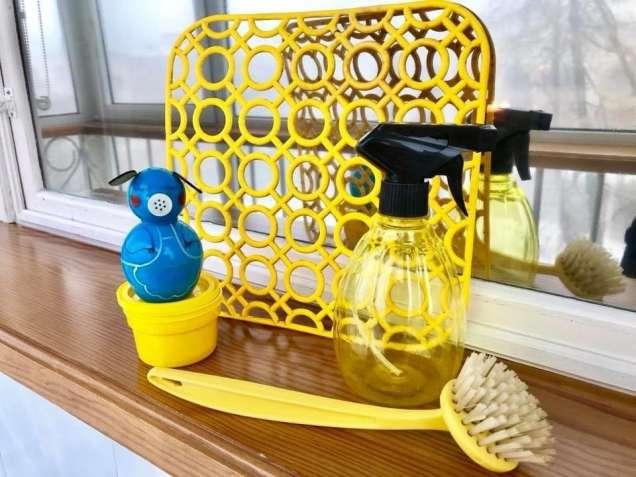 Комплект для кухни: щетка, решётка в мойку, пульверизатор. - зображення 6