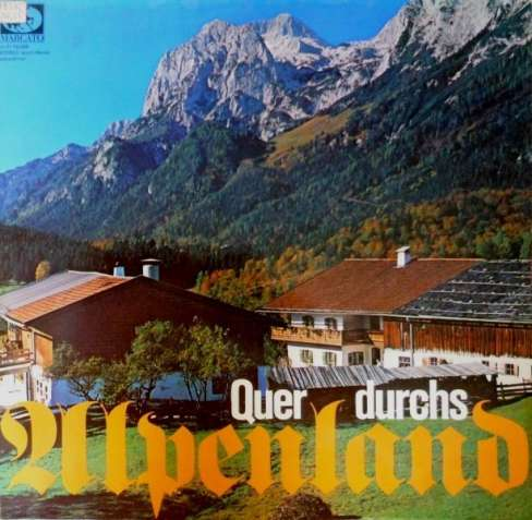 Виниловая пластинка Folk-music Germany 2LP