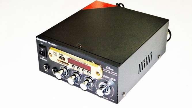 Усилитель Bosstron ABS-805U - USB,SD,FM,MP3! 300W+300W Караоке
