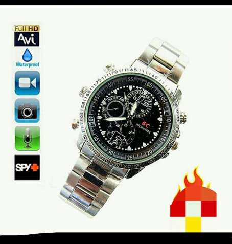 Скрытая камера(часы) 1080р