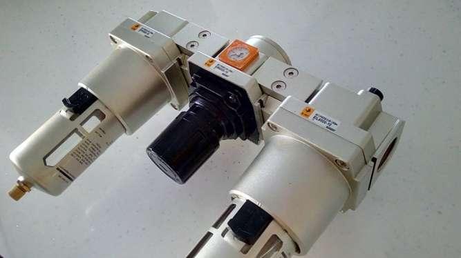 Фільтр-регулятор повітря для компресора, прохід G1, 6400 л/хв. - зображення 4