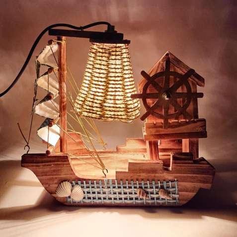 """Декоративная лампа-ночник """"Лодка """", светильник"""