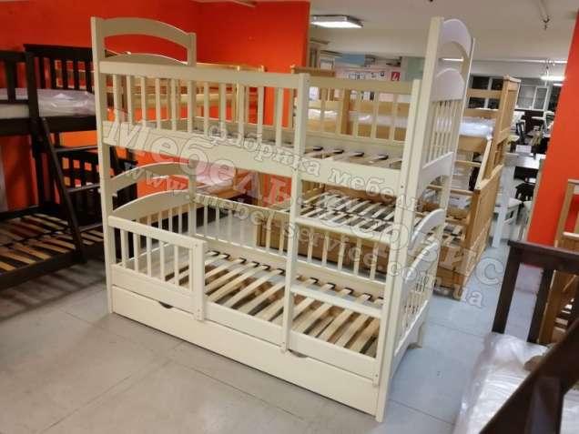 Двухъярусная кровать Карина-Люкс Трио