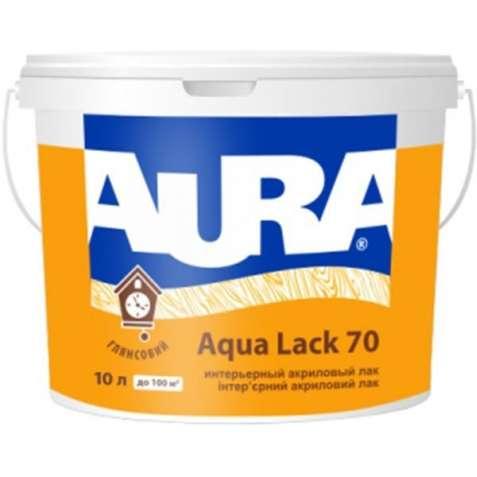 Интерьерный Лак Aura Aqua Lack 70 (глянцевый).  2,5 л. Акционная цена!