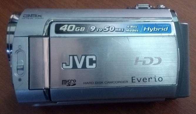 ПРОДАЖА видеокамера  JVC GZ-MG340 , 40 Gb диск в  хорошем состоянии