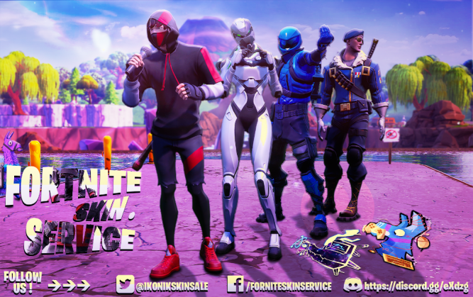 Fortnite Skins, ФОРТНАЙТ Костюми - Honor, Ikonik, EON, Royal Bomber