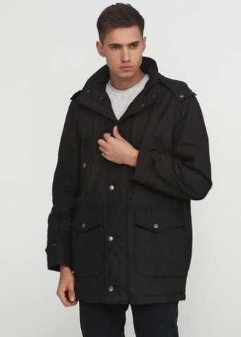 """Куртка """"C.Comberti"""" удлиненная черная"""