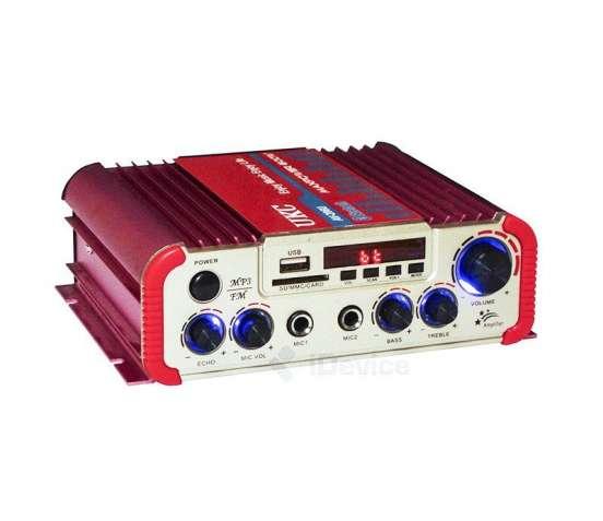 Усилитель UKC AV-206U - Bluetooth, USB,SD,FM,MP3! 300W+300W Караоке