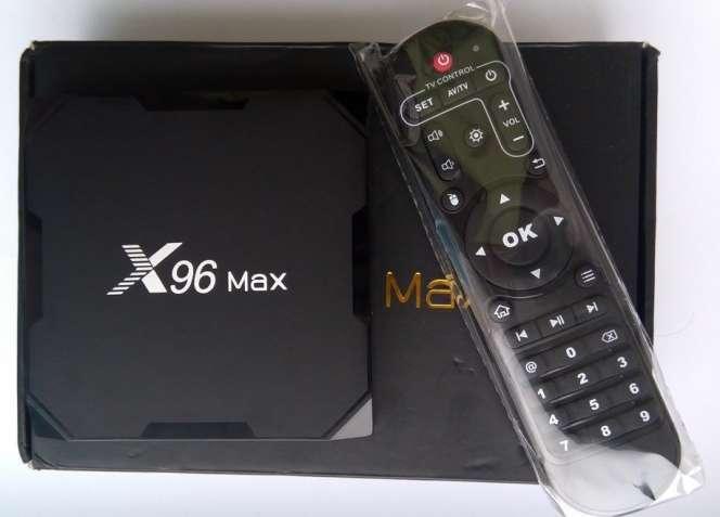 Tv Box X96 Max (S905X2, 4/64GB, Android 8, bluetooth, SPDIF, WiFi 5G)