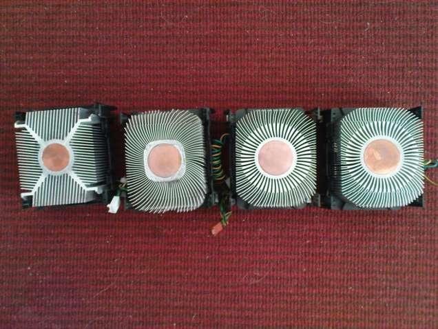 Продам охлаждение процессора под 478-й сокет