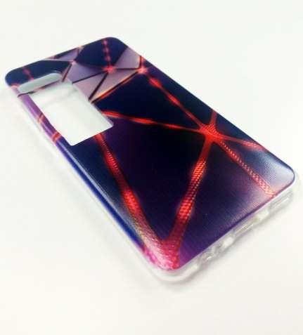 Чехол meizu pro 7 силиконовый бампер на мейзу про 7 абстракция 3D