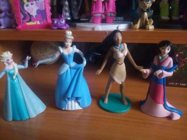 Фигурки Принцесс DISNEY PRINCESS,Моана,Пакахонтас,Золушка,Анна Ельза